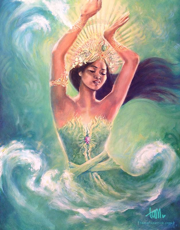 zeenimf natuurwezens esoterie newage spiritualiteit sjamanisme